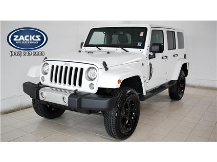 2018 Jeep Wrangler JK Unlimited Sahara (Stk: 44543) in Truro - Image 1 of 36