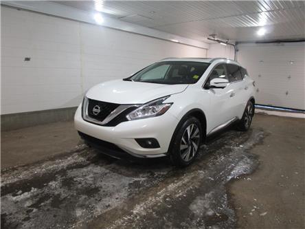 2018 Nissan Murano Platinum (Stk: 2180101) in Regina - Image 1 of 34
