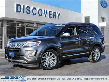 2017 Ford Explorer Platinum (Stk: 17-27829-B) in Burlington - Image 1 of 28