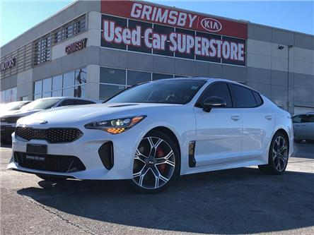 2020 Kia Stinger Kia Corporate Demo, 3.99% Financing Available (Stk: N4122) in Grimsby - Image 1 of 22