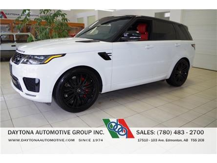 2020 Land Rover Range Rover Sport HSE DYNAMIC (Stk: 5437) in Edmonton - Image 1 of 30
