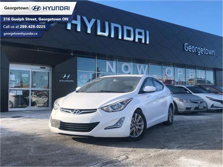 2016 Hyundai Elantra Sport Appearance (Stk: 1075A) in Georgetown - Image 1 of 24