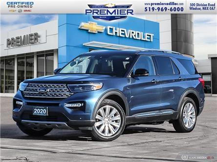 2020 Ford Explorer Limited (Stk: 210414A) in Windsor - Image 1 of 27