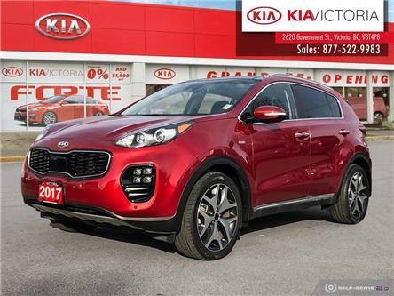 2017 Kia Sportage SX Turbo (Stk: SR21-188A) in Victoria - Image 1 of 25