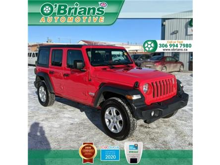 2018 Jeep Wrangler Unlimited Sport (Stk: 14169A) in Saskatoon - Image 1 of 26