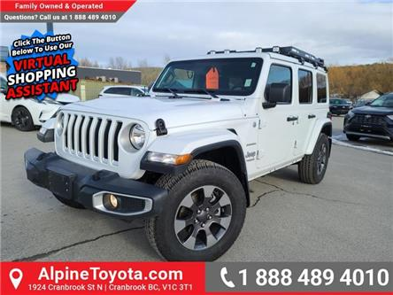 2018 Jeep Wrangler Unlimited Sahara (Stk: X058663A) in Cranbrook - Image 1 of 25