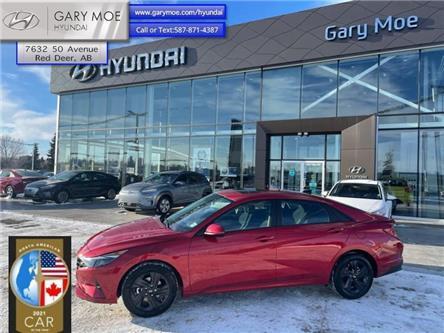 2021 Hyundai Elantra Preferred w/Sun & Tech Package IVT (Stk: 1EL5216) in Red Deer - Image 1 of 11