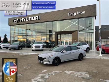 2021 Hyundai Elantra Preferred IVT (Stk: 1EL8056) in Red Deer - Image 1 of 10