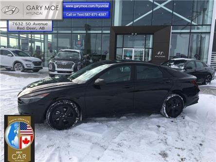 2021 Hyundai Elantra Preferred IVT (Stk: 1EL7076) in Red Deer - Image 1 of 12