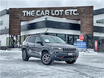 2020 Jeep Cherokee Trailhawk (Stk: 21013) in Sudbury - Image 1 of 26