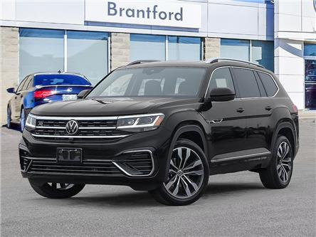2021 Volkswagen Atlas 3.6 FSI Execline (Stk: AT21383) in Brantford - Image 1 of 23
