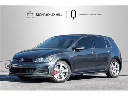 2018 Volkswagen Golf GTI 5-Door (Stk: 21-197AA) in Richmond Hill - Image 1 of 20