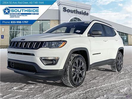 2021 Jeep Compass North (Stk: JC2107) in Red Deer - Image 1 of 25