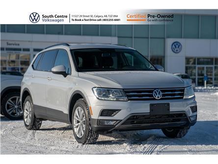 2018 Volkswagen Tiguan Trendline (Stk: U6680) in Calgary - Image 1 of 39
