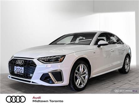 2020 Audi A4 2.0T Technik (Stk: P8564) in Toronto - Image 1 of 25