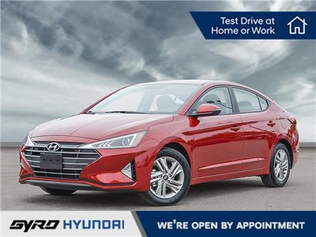 2020 Hyundai Elantra Preferred w/Sun & Safety Package (Stk: H5305) in Toronto - Image 1 of 23