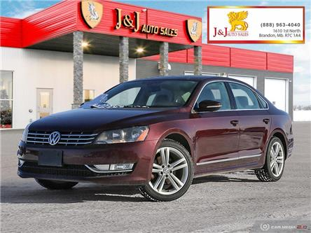 2012 Volkswagen Passat 2.0 TDI Highline (Stk: JB21007) in Brandon - Image 1 of 26