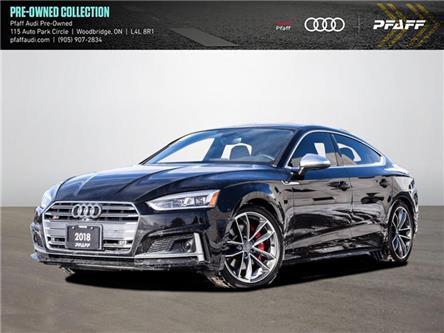 2018 Audi S5 3.0T Technik (Stk: C8094) in Vaughan - Image 1 of 20