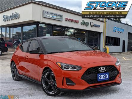 2020 Hyundai Veloster Turbo (Stk: 35857) in Waterloo - Image 1 of 28