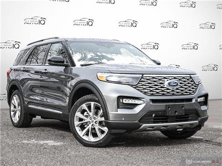 2021 Ford Explorer Platinum (Stk: 1T096) in Oakville - Image 1 of 29