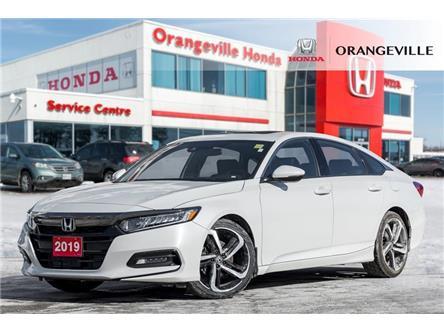 2019 Honda Accord Sport 1.5T (Stk: V21016A) in Orangeville - Image 1 of 21