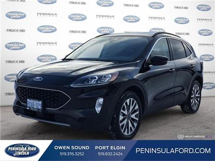 2020 Ford Escape Titanium Hybrid (Stk: 2195) in Owen Sound - Image 1 of 25