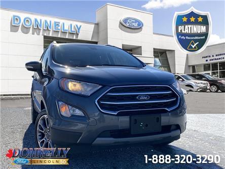 2019 Ford EcoSport Titanium (Stk: PLDUR6715) in Ottawa - Image 1 of 26