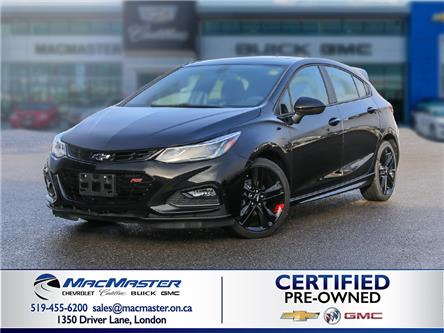 2018 Chevrolet Cruze LT Auto (Stk: 215045PA) in London - Image 1 of 10