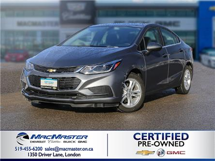 2018 Chevrolet Cruze LT Auto (Stk: 210151PA) in London - Image 1 of 10
