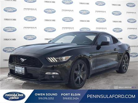 2016 Ford Mustang EcoBoost Premium (Stk: 2198) in Owen Sound - Image 1 of 24
