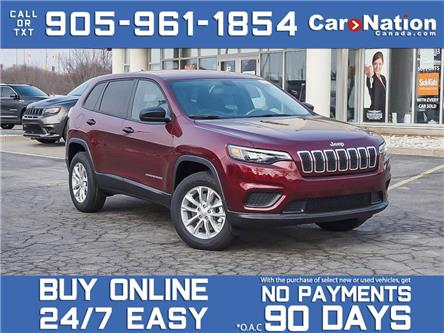 2021 Jeep Cherokee Sport 4x4| HEATED SEATS & WHEEL| BRAND NEW| (Stk: NOU-M182) in Burlington - Image 1 of 25