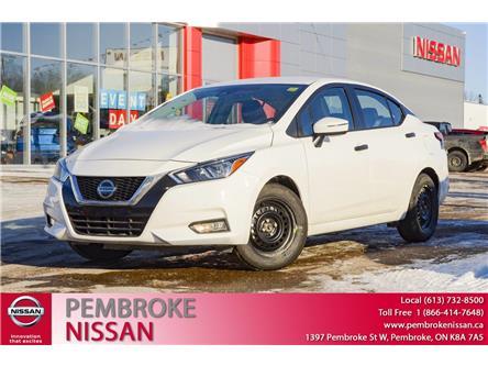 2021 Nissan Versa S (Stk: 21011) in Pembroke - Image 1 of 26
