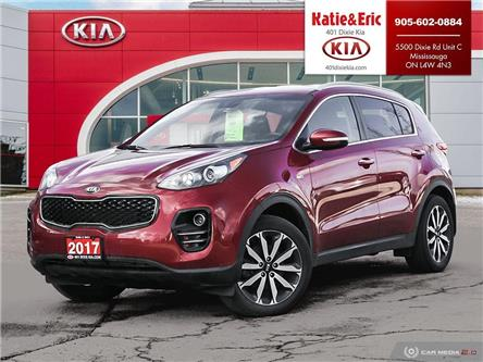 2017 Kia Sportage EX (Stk: K3155A) in Mississauga - Image 1 of 27