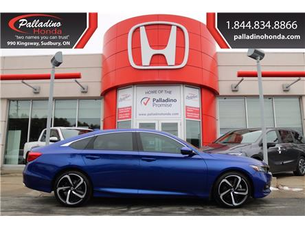 2018 Honda Accord Sport (Stk: U9810) in Sudbury - Image 1 of 32