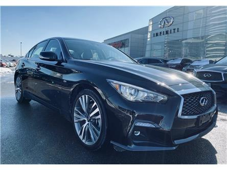 2020 Infiniti Q50 Signature Edition (Stk: H9135A) in Thornhill - Image 1 of 9