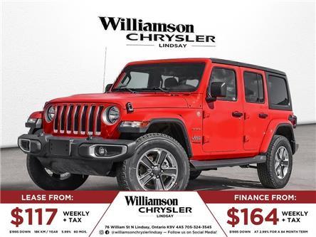 2021 Jeep Wrangler Unlimited Sahara (Stk: 033-21) in Lindsay - Image 1 of 23