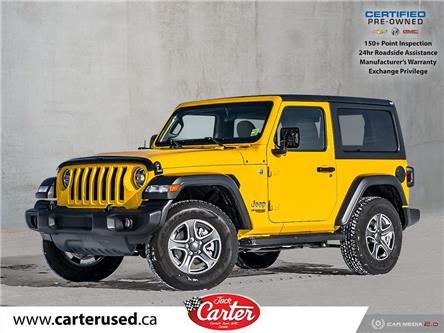 2020 Jeep Wrangler Sport (Stk: 300727U) in Calgary - Image 1 of 27