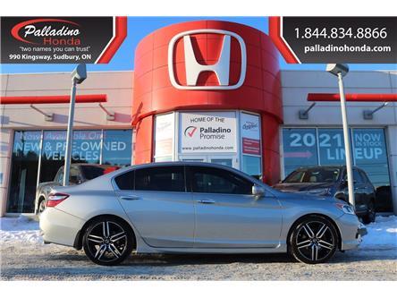 2016 Honda Accord Sport (Stk: 22869B) in Greater Sudbury - Image 1 of 35