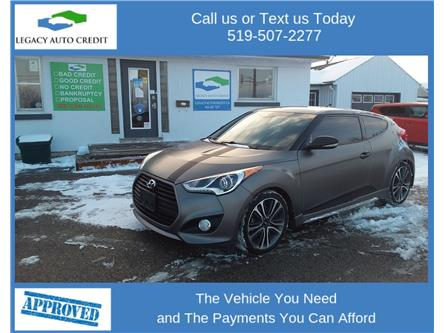 2016 Hyundai Veloster Turbo (Stk: 20195) in Waterloo - Image 1 of 19