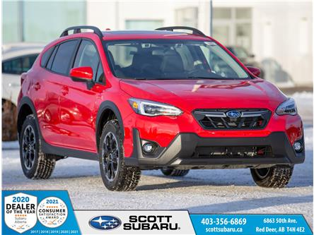 2021 Subaru Crosstrek Sport (Stk: 210487) in Red Deer - Image 1 of 23