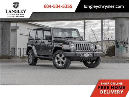 2018 Jeep Wrangler JK Unlimited Sahara (Stk: M505297A) in Surrey - Image 1 of 21