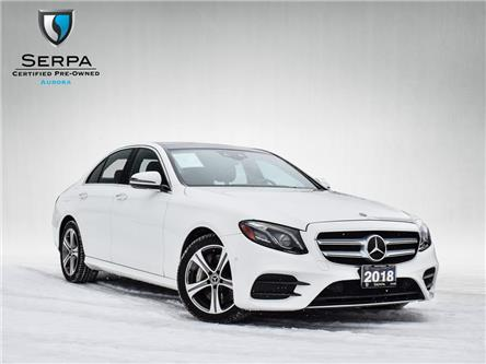 2018 Mercedes-Benz E-Class Base (Stk: P1225) in Aurora - Image 1 of 27