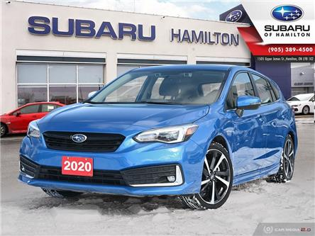 2020 Subaru Impreza Sport-tech (Stk: S8778) in Hamilton - Image 1 of 26