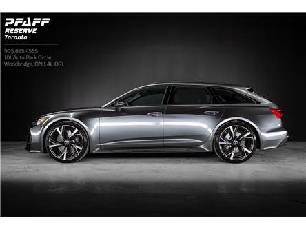 2021 Audi RS 6 Avant 4.0T (Stk: PQ0005) in Woodbridge - Image 1 of 20