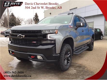 2021 Chevrolet Silverado 1500 LT Trail Boss (Stk: 223884) in Brooks - Image 1 of 19