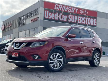2014 Nissan Rogue Pano roof, back up camera, Leather, Navi, Loaded! (Stk: N4036A) in Grimsby - Image 1 of 23