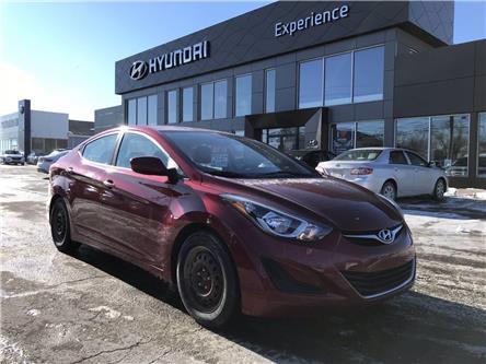 2015 Hyundai Elantra GL (Stk: N980A) in Charlottetown - Image 1 of 9