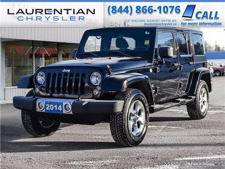 2014 Jeep Wrangler Unlimited Sahara (Stk: 21162A) in Sudbury - Image 1 of 25