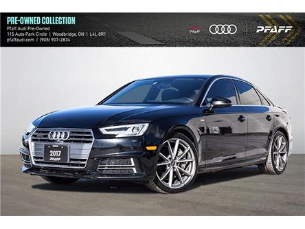 2017 Audi A4 2.0T Technik (Stk: C8150) in Woodbridge - Image 1 of 20