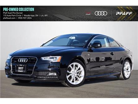 2017 Audi A5 2.0T Komfort (Stk: C8151) in Woodbridge - Image 1 of 21